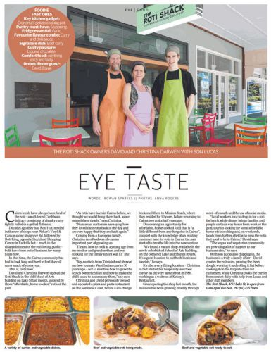 Editorial form Cairns Eye - 25/08/2018